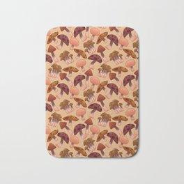 Autumn Mushrooms Bath Mat