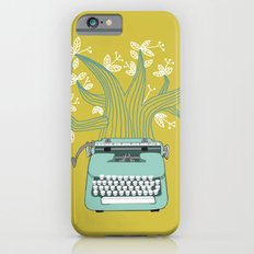 The Typing Tree Blue Slim Case iPhone 6s