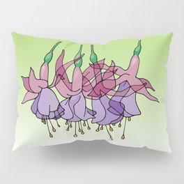 Purple Fuchsias Pillow Sham