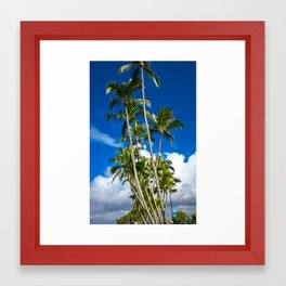 Palm Trees 7 Framed Art Print