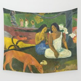 Arearea by Paul Gauguin Wall Tapestry