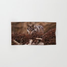 Grey Wolf Hand & Bath Towel