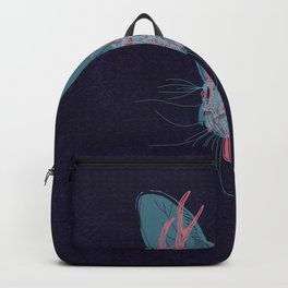 Jackelope Skull Backpack
