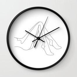 Pretty legs Wall Clock