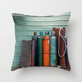 Colors - Tanks Throw Pillow