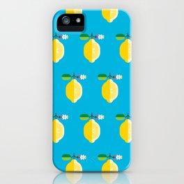 Fruit: Lemon iPhone Case