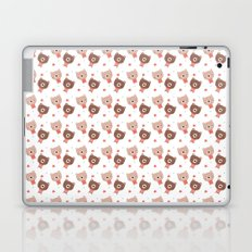Christmas cute bears Laptop & iPad Skin