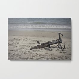 Lost Bicycle Metal Print
