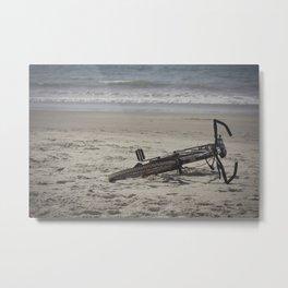 Lost Bicycle Metal Print