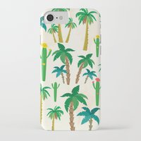 palm iPhone & iPod Cases featuring palm by Ceren Aksu Dikenci