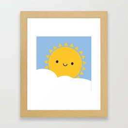 Good Morning Sunshine Framed Art Print