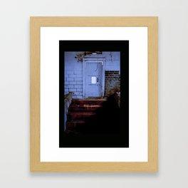 Step into the underworld Framed Art Print