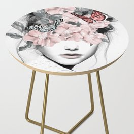 WOMAN WITH FLOWERS 10 Side Table