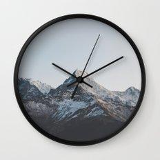 Himalayas XI Wall Clock