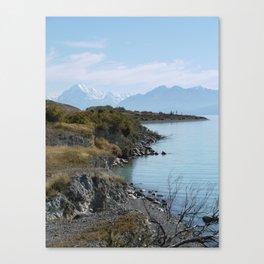 Lake Pukaki Canvas Print