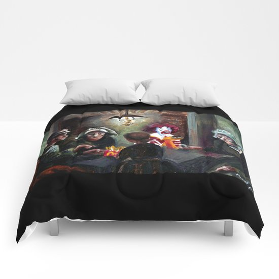 The McChips Eaters (Van Gogh) Comforters