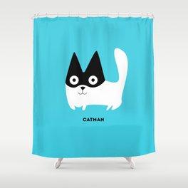 Catman Shower Curtain
