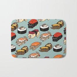 Sushi Otter Bath Mat