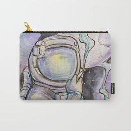 """""""Space Kills""""   Funny WaterColor Illustration Carry-All Pouch"""