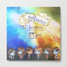 Sarai's Fireflies Metal Print