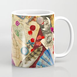 Vintage Love Letters Coffee Mug
