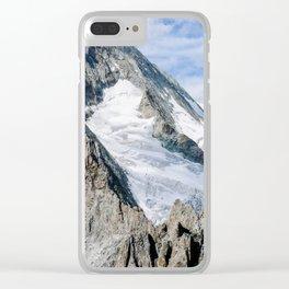 Bietschhorn Clear iPhone Case