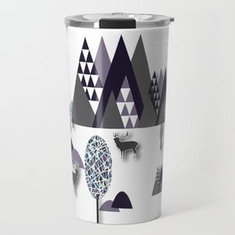 To Be Free In The Mountains Travel Mug
