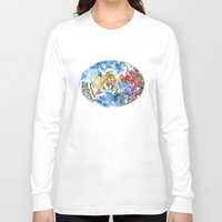 angel Long Sleeve T-shirts featuring Angel by Shelley Ylst Art