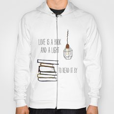 Love Is A Book Hoody
