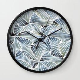 Acquamesh Wall Clock