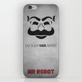 Mr Robot iPhone Skin