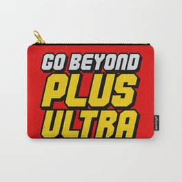 Go Beyond Plus Ultra Text Carry-All Pouch