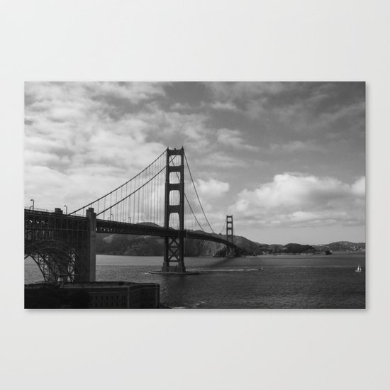 means to an end Canvas Print