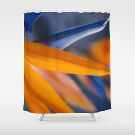 Ecstatic Motion Shower Curtain