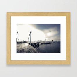 Kelowna Dock Framed Art Print