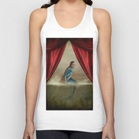 mermaid Tank Tops featuring Mermaid by Maria Kanevskaya