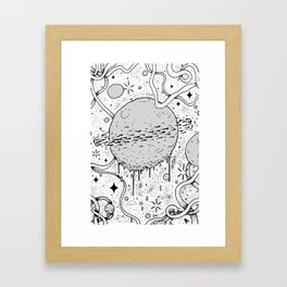 Space kidz Framed Art Print