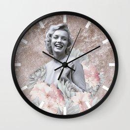 Spring Marilyn Wall Clock