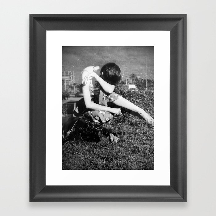 Out of Love Framed Art Print