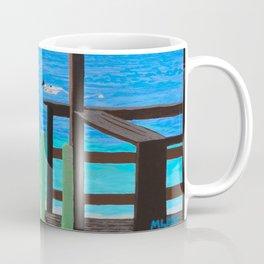 Lookout along Grand Case Beach Coffee Mug