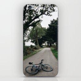 cycling wild iPhone Skin