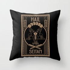 Vegistopheles Throw Pillow