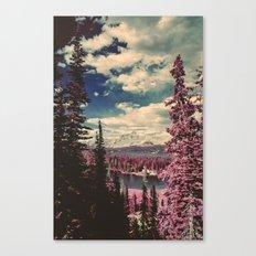 Hayden Ridge Infrared Canvas Print