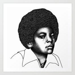 Little King Art Print