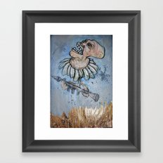 Nature fights back Framed Art Print
