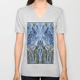 Winter Mountainous Landscape-3 Unisex V-Neck
