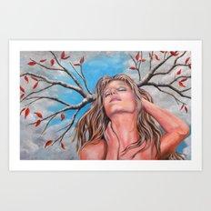 Goddess of the Trees Art Print