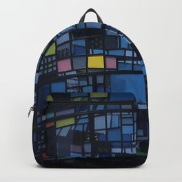 Stained glass water tower Backpack