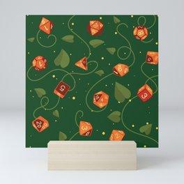 Polyhedral (Dice) Pumpkin Patch Mini Art Print
