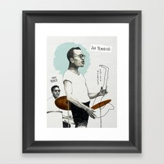 ANALOG zine - Vocalese Sax Solo Framed Art Print